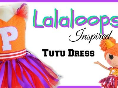 Lalaloopsy Inspired Costume Tutu - DIY