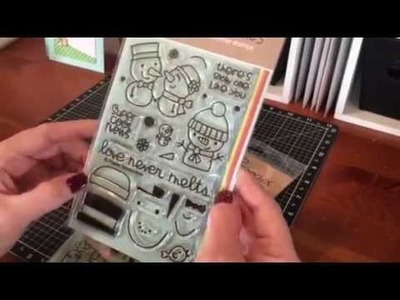 March Card Making Haul~Paper Smooches, Avery Elle, Tim Holtz and more!