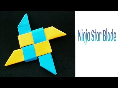 "Modular Origami -  Paper "" Ninja Star Blade(1) - 4 pointed """