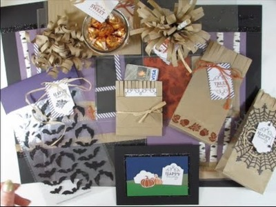 Paper Pumpkin September 2015 Wickedly Sweet Treat Kit - Alternate Ideas
