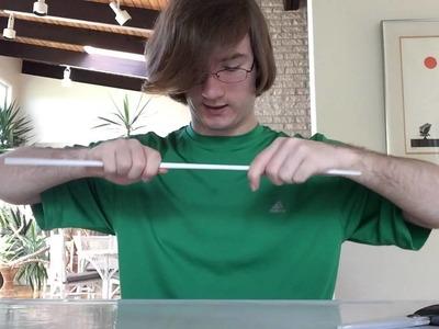 Paper wand making