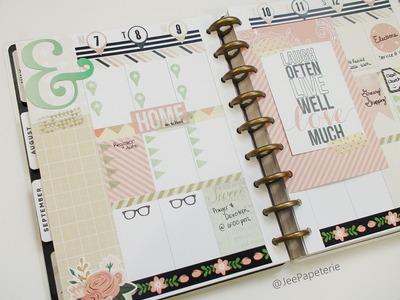 Plan With Me: Ephemera, Scrapbook Page Kit, and Washi (September)
