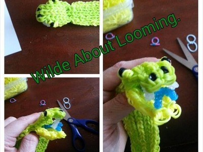 Rainbow Loom Green Tree Python Tutorial