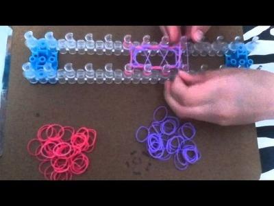 Rainbow loom rubber pouch