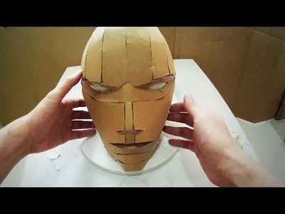 #105: Red Hood DIY Costume Helmet Part 1 - Cardboard