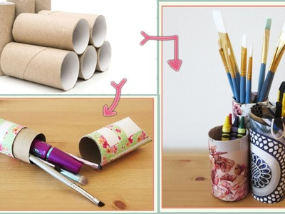 2 DIYs using Toiler Paper Rolls- Upcycle DIY [Sunny DIY]