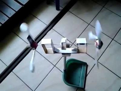2-rotor Paper Windmill