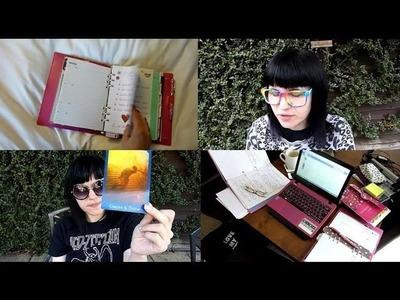275. [VIDEO SCRAPBOOK] My Creative Process | Filofax Set-Up | Hotel Shenanigans |