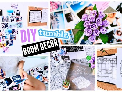 Back To School: DIY Tumblr Inspired Room Decor | With DrammaqueenGKC