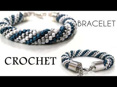 Beading Ideas - Crochet Bracelet