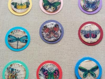 Clip Art 2:  Decorative Paper Clips Using Fun Foam