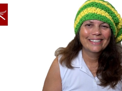 Crochet Geek Star Stitch Hat Tutorial