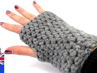 Crochet gloves fingerless for beginners Tutorial: how to make your own crockett glove