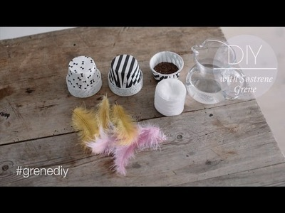 DIY: Bunny-shaped forms to grow cress by Søstrene Grene