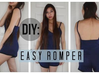 ✂ DIY Easy Peasy Romper