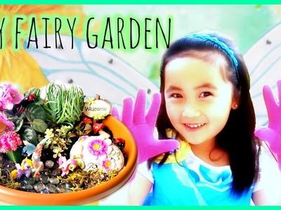 DIY fairy garden feature My Little Pony Hello Kitty LPS