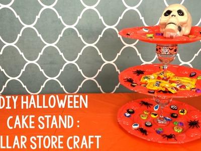 DIY Halloween Cake Stand