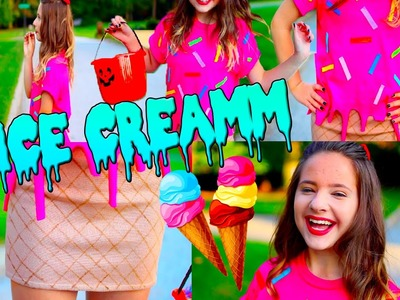 DIY Halloween Costume: Ice Cream Cone
