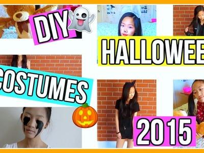 DIY Halloween Costumes 2015 | Aianna Khuu