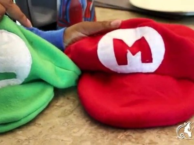 DIY Mario, Luigi and Princess Peach Halloween Costumes 2015