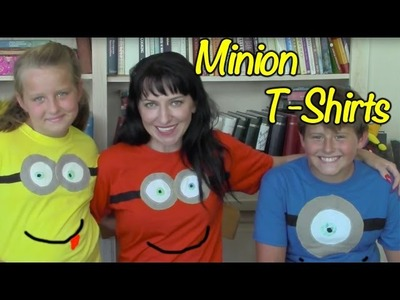 Diy Minion Crafts and Costume - Easy T-Shirts for Kids