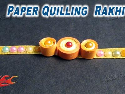 DIY Paper Quilling Rakhi for Raksha Bandhan | How to make |JK Easy Craft for kids 034