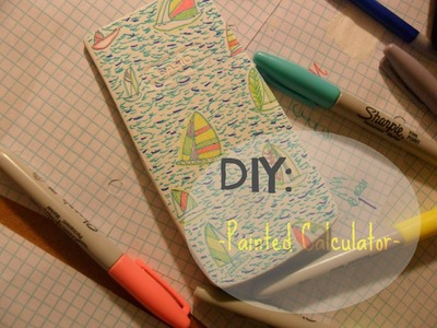 DIY: Spice up your calculator | Lilly Pulitzer Inspired