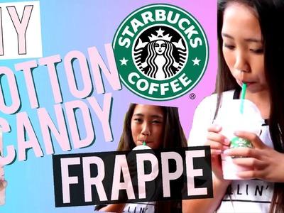 DIY Starbucks Cotton Candy Frappe!
