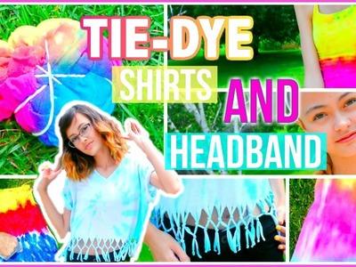 DIY Tie-Dye Halter, Shirts and Headband | Mish Shelly