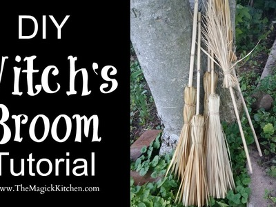 DIY Witch's Broom Tutorial