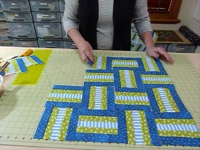 """Doodles with Noodles 2 - or playing with 1 1.2"""" strips - Quilting Tips & Techniques 053"""