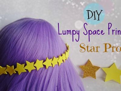 Easy DIY Lumpy Space Princess Star Prop