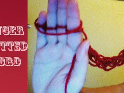 Finger i Cord