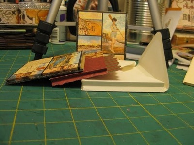 Gusseted Pockets for cards, scrapbook layouts, and mini albums