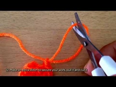 How To Crochet A Cute Farmer's  Carrot Applique - DIY Crafts Tutorial - Guidecentral