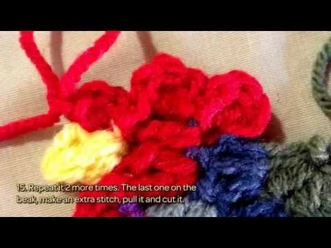 How To Crochet A Lovely Rooster For Decoration - DIY Crafts Tutorial - Guidecentral