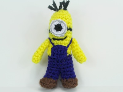 How to crochet Mini-Minion ( Video 2 ) - Yolanda Soto Lopez