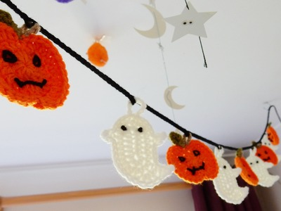 How to join my Halloween Bunting Crochet