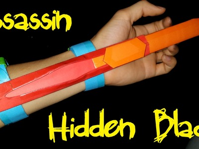 How to make a Assassins Creed Hidden Blade using Paper | Creative Products
