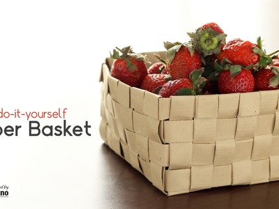 How to make a Fruit Bowl from Paper