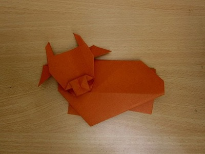 How to Make a Paper Cow - Easy Tutorials