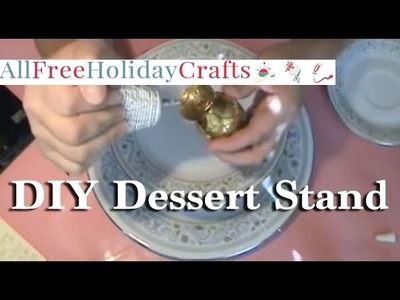 How to Make a Three Tiered Dessert Stand for Mother's Day