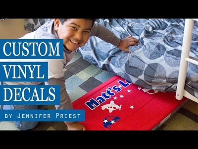 How to Make Custom Vinyl Decals using Sizzix eclips2 DIY Electronic Cutting System