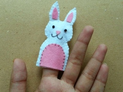 How To Make Cute Bunny Finger Puppet - DIY Crafts Tutorial - Guidecentral