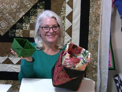 How to Make Fabric Boxes Any Size