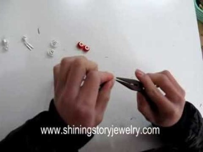 How to make pandora style necklace yourself DIY step to step guide fashion jewelry