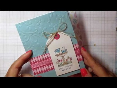 How to Watercolor A Greeting Card