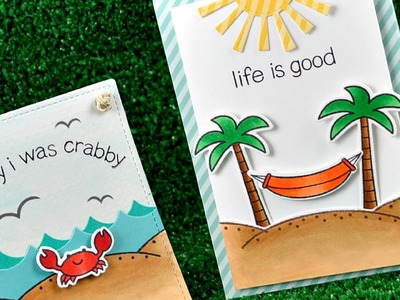 Intro to Life is Good + 2 cards from start to finish