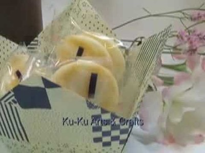 Ku-Ku ORIGAMI Pointed Basket (Cesta de pico)