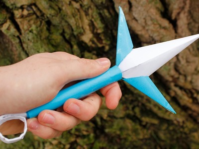 how to make a paper kunai pouch
